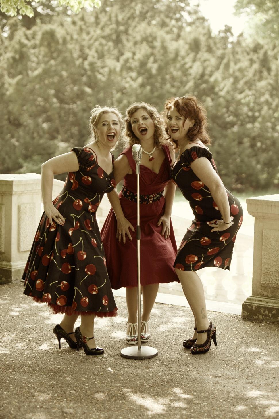The Cherries KarenLevin Maaike Widdershoven Yolanda Germain
